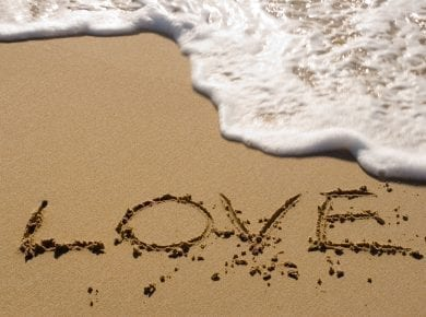 Love-water-beach