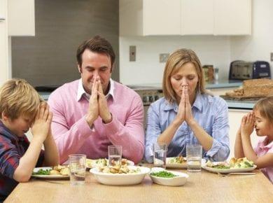 Pray, Food, Saying Grace