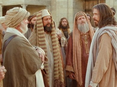 Pharisees, Question Jesus, Widow