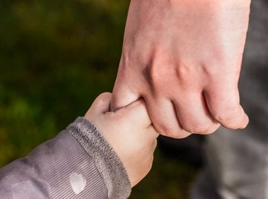 childs-hand