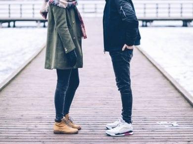 Couple-standing