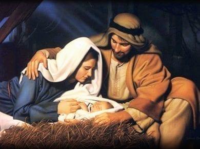 Jesus Mary and Joseph