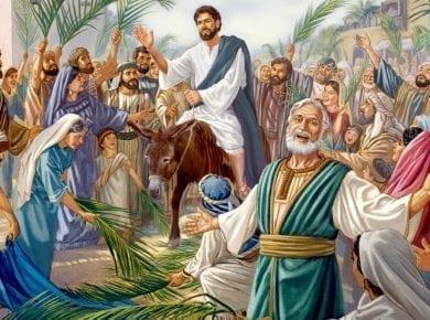 Jesus Riding into Jerusalem