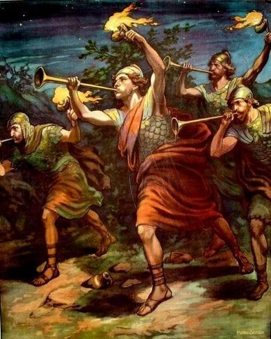 Gideon included among the Heroes of faith