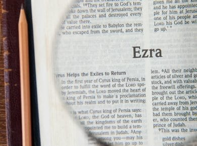 Ezra chapter one