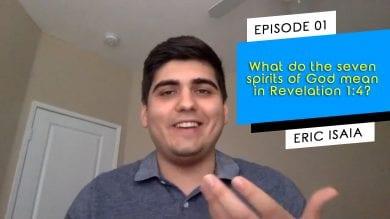 seven spirits Revelation 1:4