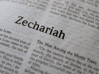 Zechariah, eight visions