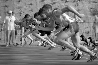 athlete Christian race