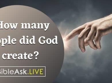 people did God create