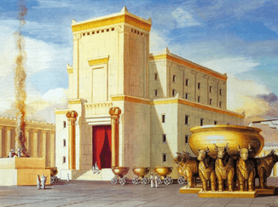 Building of the Temple
